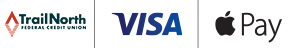 TFCU, Visa, Apple Pay Logos